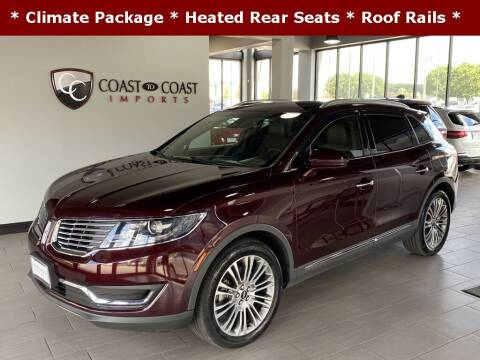 2018 Lincoln MKX for sale at Coast to Coast Imports in Fishers IN