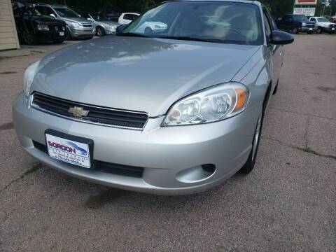 2007 Chevrolet Monte Carlo for sale at Gordon Auto Sales LLC in Sioux City IA