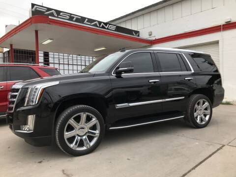 2016 Cadillac Escalade for sale at FAST LANE AUTO SALES in San Antonio TX