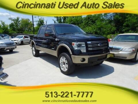 2013 Ford F-150 for sale at Cincinnati Used Auto Sales in Cincinnati OH