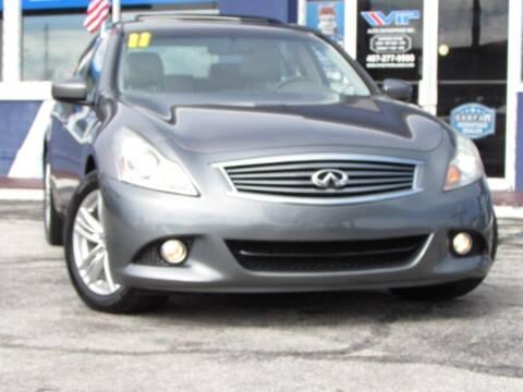 2011 Infiniti G37 Sedan for sale at VIP AUTO ENTERPRISE INC. in Orlando FL