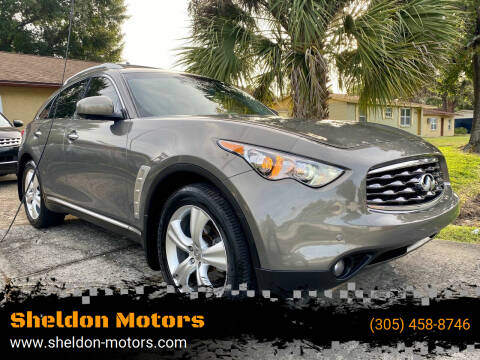 2011 Infiniti FX35 for sale at Sheldon Motors in Tampa FL