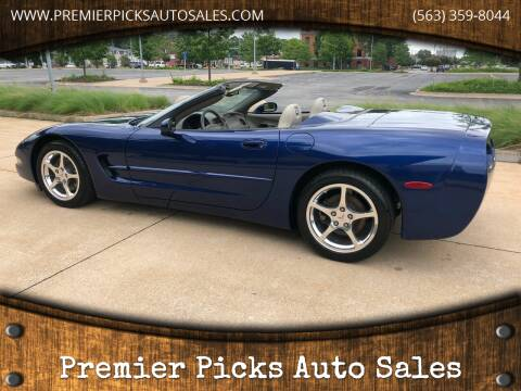 2004 Chevrolet Corvette for sale at Premier Picks Auto Sales in Bettendorf IA