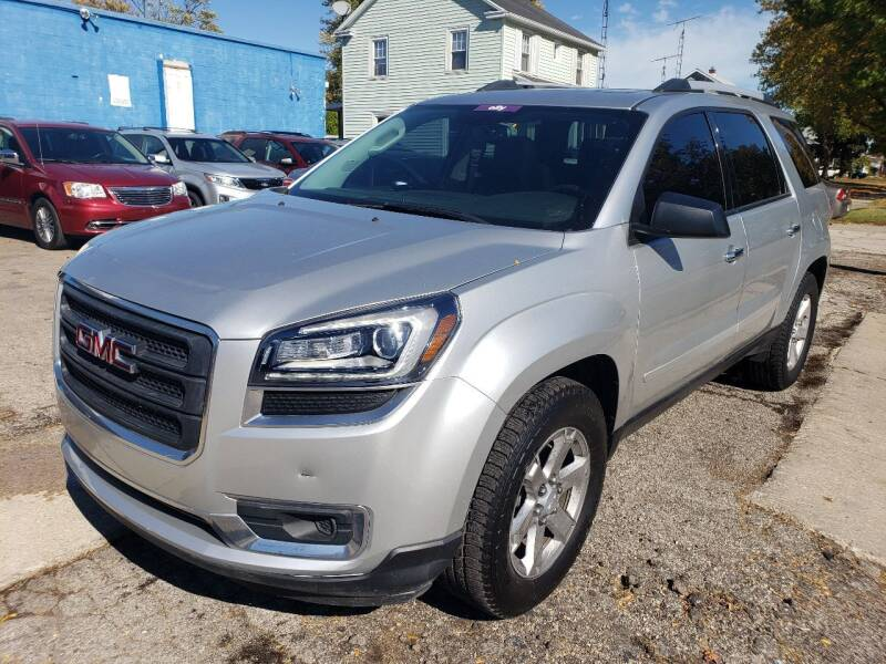 2015 GMC Acadia for sale at M & C Auto Sales in Toledo OH