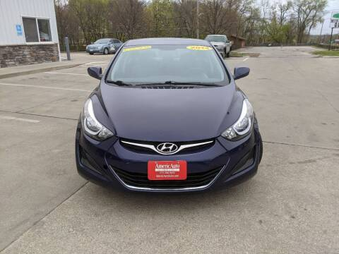 2014 Hyundai Elantra for sale at AmericAuto in Des Moines IA