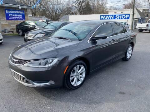 2016 Chrysler 200 for sale at Brucken Motors in Evansville IN