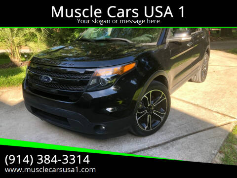 2013 Ford Explorer for sale at Muscle Cars USA 1 in Murrells Inlet SC