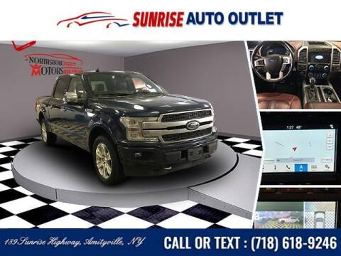 2018 Ford F-150 for sale at Sunrise Auto Outlet in Amityville NY