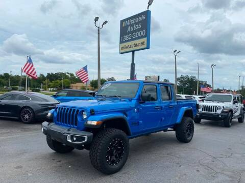 2020 Jeep Gladiator for sale at Michaels Autos in Orlando FL