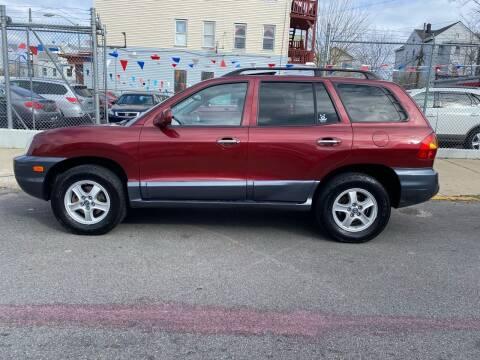 2003 Hyundai Santa Fe for sale at G1 Auto Sales in Paterson NJ