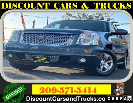 2007 GMC Yukon XL for sale at Discount Cars & Trucks in Modesto CA