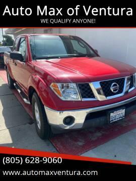 2007 Nissan Frontier for sale at Auto Max of Ventura in Ventura CA