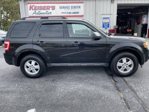 2011 Ford Escape for sale at Keisers Automotive in Camp Hill PA
