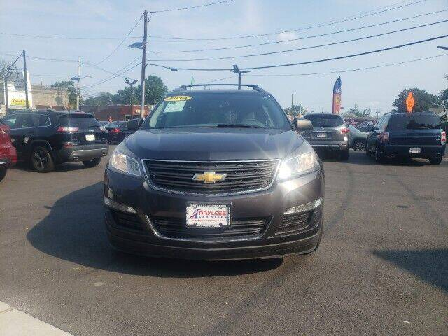 2014 Chevrolet Traverse for sale at PAYLESS CAR SALES of South Amboy in South Amboy NJ