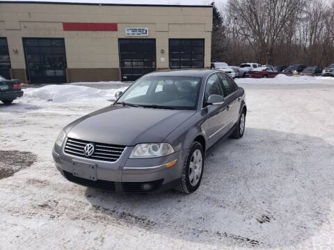 2005 Volkswagen Passat for sale at Fleet Automotive LLC in Maplewood MN