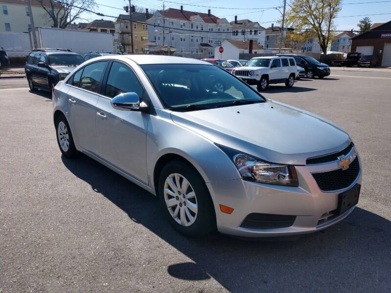 2011 Chevrolet Cruze for sale at A J Auto Sales in Fall River MA