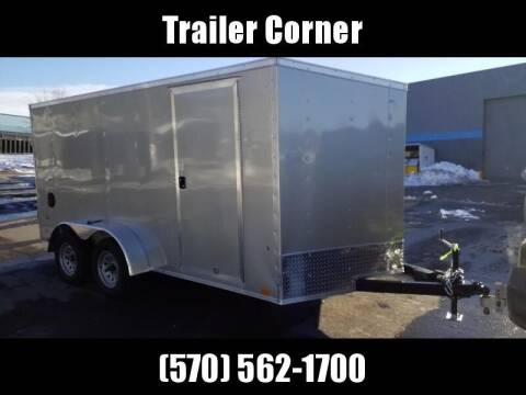 2022 Look Trailers STLC 7X14 - RAMP DOOR