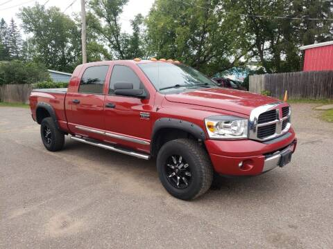 2007 Dodge Ram Pickup 3500 for sale at WB Auto Sales LLC in Barnum MN