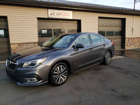 2018 Subaru Legacy for sale at Ulsh Auto Sales Inc. in Summit Station PA