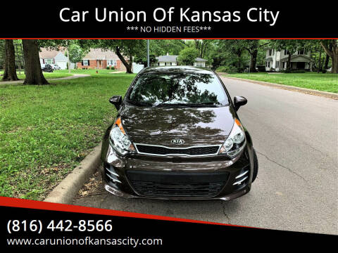 2016 Kia Rio 5-Door for sale at Car Union Of Kansas City in Kansas City MO