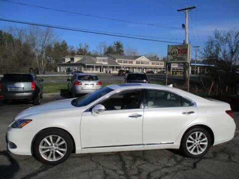 2012 Lexus ES 350 for sale at AUTO STOP INC. in Pelham NH