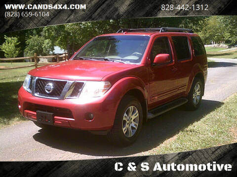 2009 Nissan Pathfinder for sale at C & S Automotive in Nebo NC