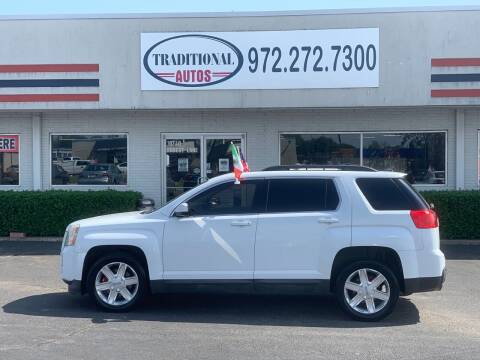 2011 GMC Terrain for sale at Traditional Autos in Dallas TX