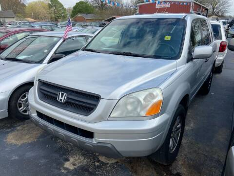 2004 Honda Pilot for sale at Sartins Auto Sales in Dyersburg TN