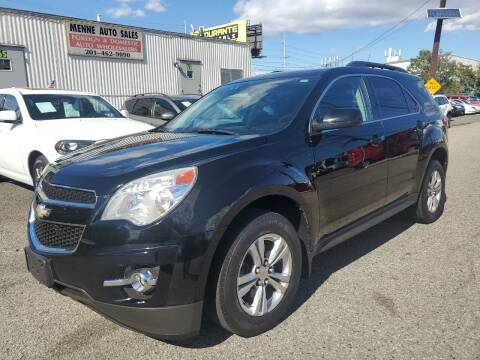 2012 Chevrolet Equinox for sale at MENNE AUTO SALES in Hasbrouck Heights NJ