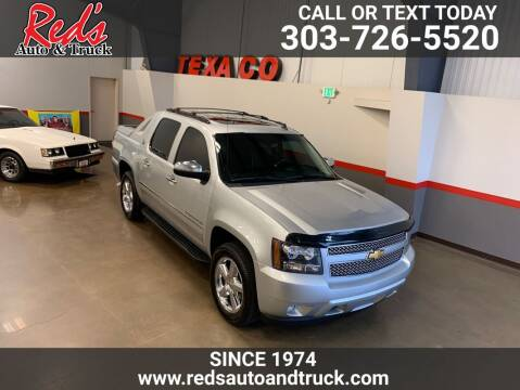 2013 Chevrolet Avalanche for sale at Red's Auto and Truck in Longmont CO