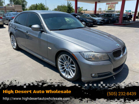 2011 BMW 3 Series for sale at High Desert Auto Wholesale in Albuquerque NM
