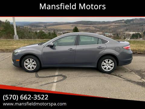 2011 Mazda MAZDA6 for sale at Mansfield Motors in Mansfield PA