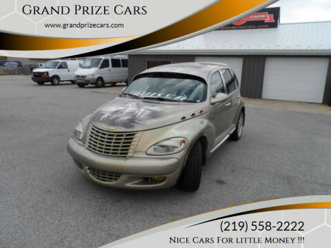 2003 Chrysler PT Cruiser for sale at Grand Prize Cars in Cedar Lake IN