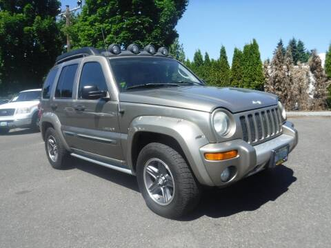 2004 Jeep Liberty for sale at Brooks Motor Company, Inc in Milwaukie OR