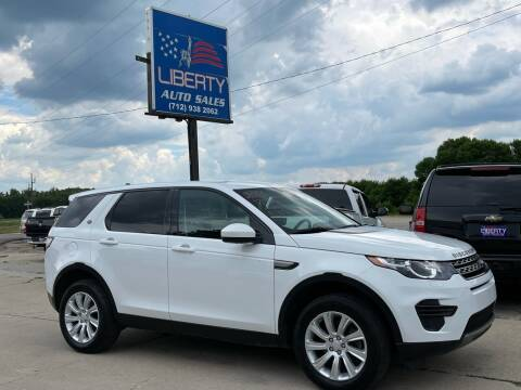 2016 Land Rover Discovery Sport for sale at Liberty Auto Sales in Merrill IA