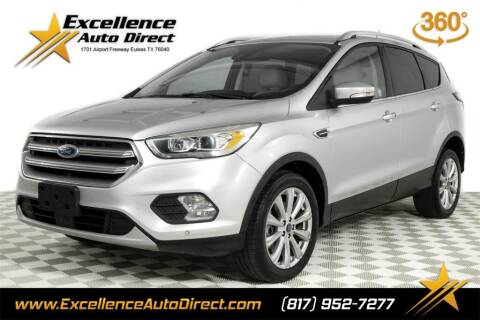 2017 Ford Escape for sale at Excellence Auto Direct in Euless TX