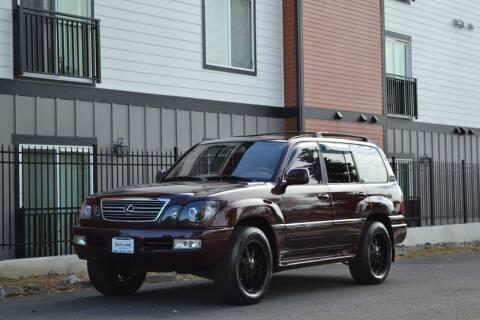 2001 Lexus LX 470 for sale at Skyline Motors Auto Sales in Tacoma WA