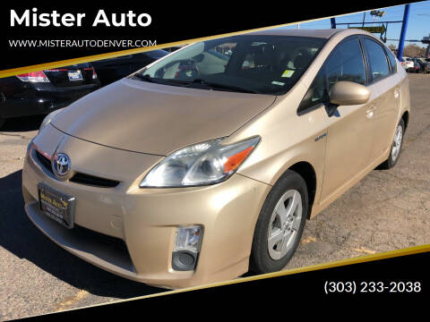2010 Toyota Prius for sale at Mister Auto in Lakewood CO