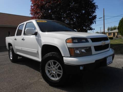 2012 Chevrolet Colorado for sale at McKenna Motors in Union Gap WA