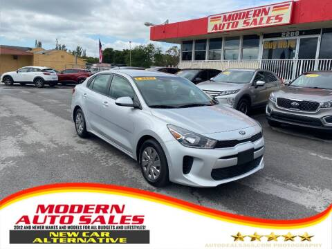 2019 Kia Rio for sale at Modern Auto Sales in Hollywood FL