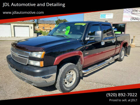 2005 Chevrolet Silverado 2500HD for sale at JDL Automotive and Detailing in Plymouth WI