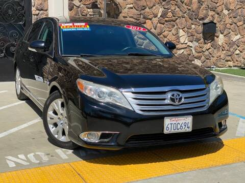 2012 Toyota Avalon for sale at Car Deal Auto Sales in Sacramento CA