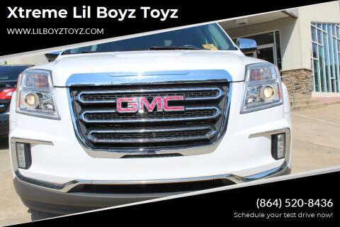 2017 GMC Terrain for sale at Xtreme Lil Boyz Toyz in Greenville SC