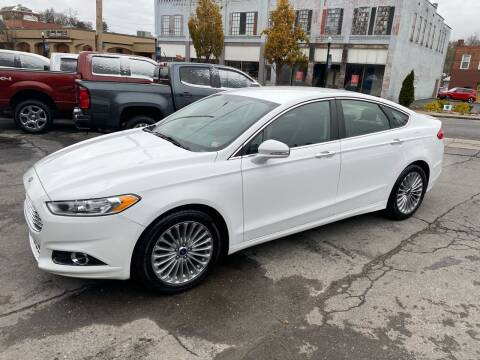 2016 Ford Fusion for sale at East Main Rides in Marion VA