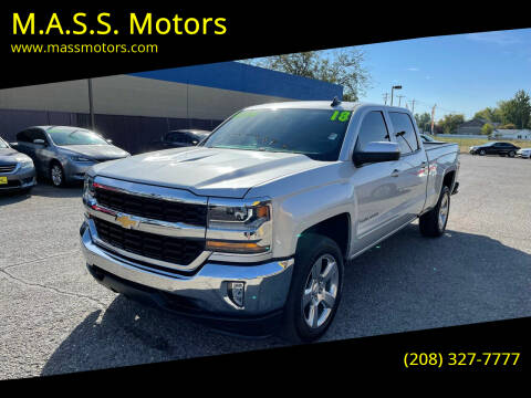 2018 Chevrolet Silverado 1500 for sale at M.A.S.S. Motors in Boise ID