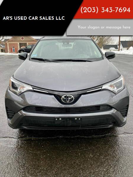 2018 Toyota RAV4 for sale at AR's Used Car Sales LLC in Danbury CT