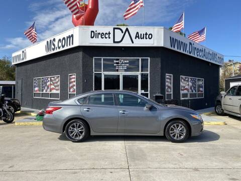 2017 Nissan Altima for sale at Direct Auto in D'Iberville MS