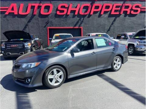 2012 Toyota Camry for sale at AUTO SHOPPERS LLC in Yakima WA