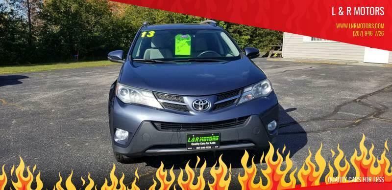 2013 Toyota RAV4 for sale at L & R Motors in Greene ME