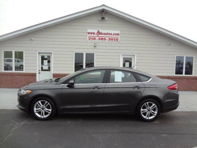 2018 Ford Fusion for sale at GIBB'S 10 SALES LLC in New York Mills MN